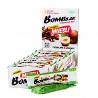 Батончик-мюсли Bombbar (21х45г)